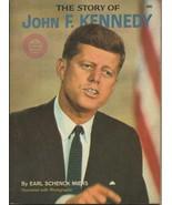 ORIGINAL Vintage 1964 Story of John F Kennedy JFK Book by Earl Schenk Miers - $24.74