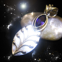 HAUNTED NECKLACE THE CRONE'S MIRROR REFLECTS BEST DEFLECTS WORST OOAK MAGICK - $8,007.77