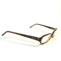 Ray-Ban Brown Tortoise Oval Rectangular Eyeglass FRAMES ONLY RB5084 2193 135 - $20.46