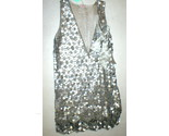 New Womens 10 NWT Matthew Williamson Designer Dress Silver Sequin Bead Sleevless - €1.617,08 EUR