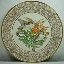 Lenox Boehm Birds Eastern Phoebes Collector Plate 1981 - $28.47