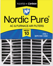 20x25x6 Aprilaire Space-Gard 2200 Replacement Air Filter MERV 10 Carbon 1 Pack - $41.14