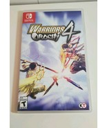Warriors Orochi 4 (Nintendo Switch, 2018) With Case - $33.94