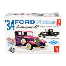 Skill 2 Model Kit 1934 Ford Pickup Truck 3 in 1 Kit Trophy Series 1/25 S... - $46.85
