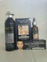 Set Of Glutathione Injection Strong Terminal White  - $217.80
