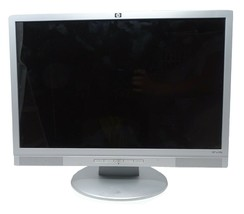 HP W19b LCD Color Display Monitor 19 inch Round Stand No Cables - $37.40