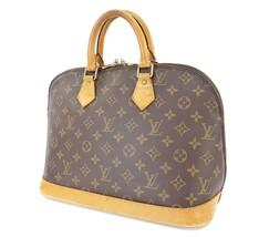 Authentic LOUIS VUITTON Alma Monogram Hand Bag Purse #31117 - $395.00