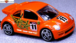Nice Gift Key Chain Orange Vw New Beetle Volkswagen Bug Custom Limited Edition - $19.98
