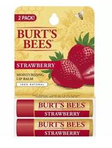 Burt's Bees - Moisturizing Lip Balm Pack Strawberry - 2 Tubes - $8.95