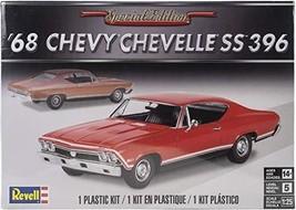 Plastic Model Kit-'68 Chevelle Ss 396 1:25 - $42.78