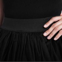 White Hilo Over-skirt / Wedding Bridal Wear Tulle Skirt / White Open Tulle Skirt image 10