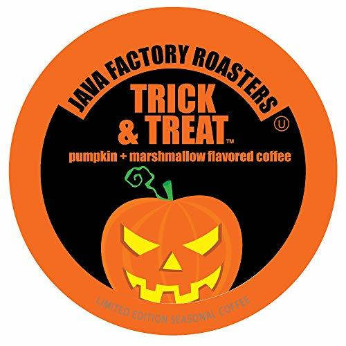 Java Factory Coffee Pods Pumpkin and Marshmallow Flavored Coffee for Keurig K... - $26.99