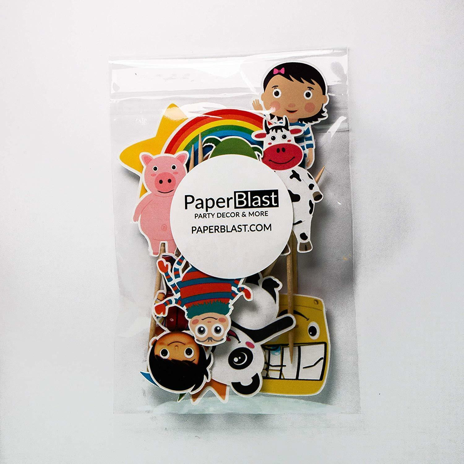 Little Baby Bum Cupcake Toppers - Candles & Cake Toppers