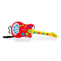 KIDS Toy Electric Guitar Interactive lights and music FUN - $24.74