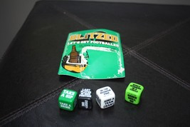 Blitzed Dice Drinking Party Game Set  Football Plastic Bar Beer - ₨2,039.33 INR