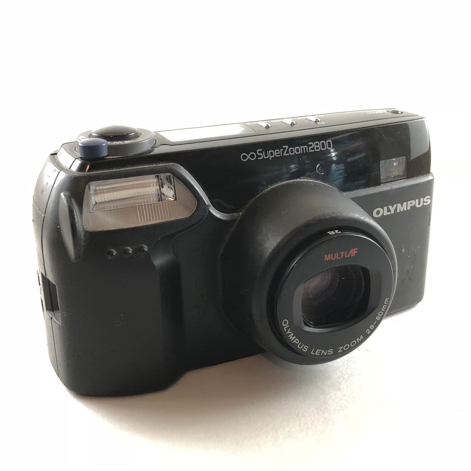 Olympus Superzoom 2800 28-80mm Film 35mm Camera Point Shoot Made in Japan
