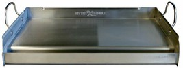 BBQ Little Griddle 25 in. Removable Handles Heavy Gauge Stainless Steel - $130.19
