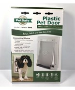 NEW PetSafe Premium Plastic Pet Door White Small Cat / Dog PPA00-10958 1... - $23.70
