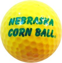 Westman Works Nebraska Corn Ball Novelty Golf Ball Golfing Gag Gift - £11.76 GBP