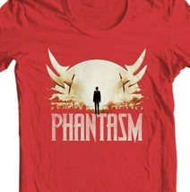 Phantasm 1978 red T Shirt vintage horror movie retro style graphic tee shirt image 2