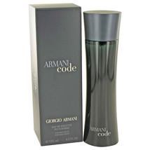 Armani Code by Giorgio Armani Eau De Toilette Spray 4.2 oz - $97.95