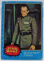 1977 Star Wars Series One Trading Card # 8 Grand Moff Tarkin - $0.98