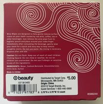 Lot of (4) boxes of 12ct Wine Wipes Teeth Lips & Mouth individually foil wrapped image 3