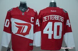 Swen Logo Detroit Red Wings 40 Henrik Zetterberg Red Stadium Series Jerseys - €44,37 EUR