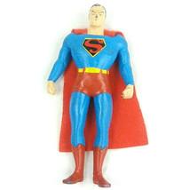 """TM & DC Comics SUPERMAN FIGURE s13 6"""" Bendable Collectors Collection Vin... - $6.91"""