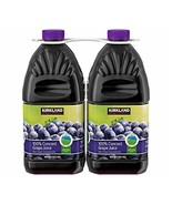 Kirkland Signature All Natural 100% Concord Grape Juice (Not from Concen... - $32.82