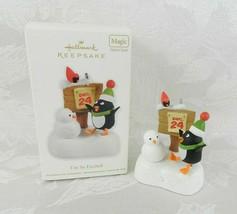 Hallmark Christmas Ornament - I'm So Excited - 2011 Penguin Magic Sound - $14.84