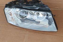 04-05 Audi A8 Quattro HID Xenon AFS Adaptive Headlight Pssngr Right RH -POLISHED image 3