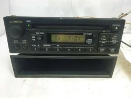 99-04 Honda Odyssey Civic Accord Radio Cd Player & Theft Code 39100-S0X-... - $40.84