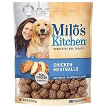 Milo's Kitchen Chicken Meatballs Dog Treats, 18-Ounce - $15.66