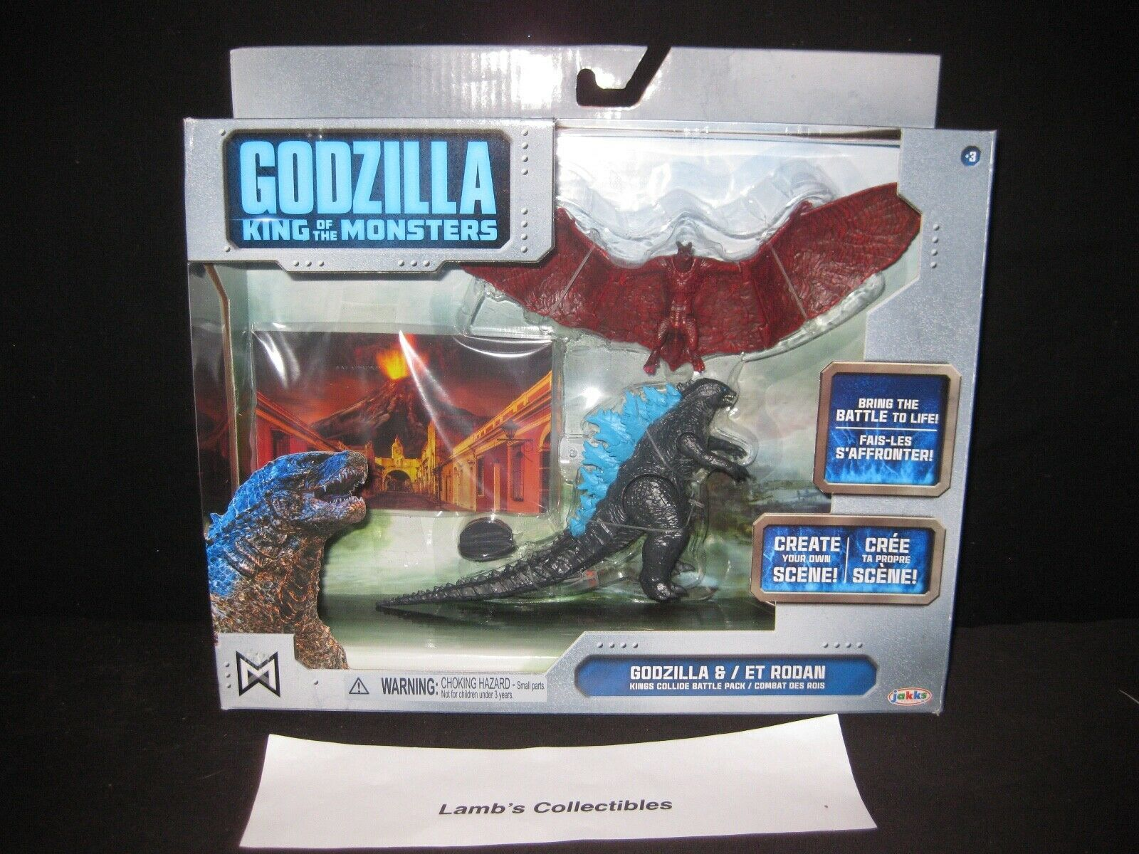Primary image for Godzilla King of the Monsters collide battle pack Atomic Blast Godzilla & Rodan