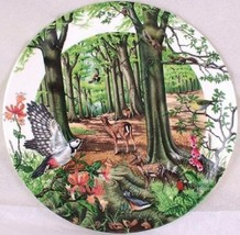 Wedgwood Collectors plate by Colin Newman The Beechwood 1988 - $21.77