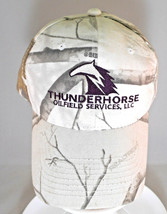 Thunderhorse Oilfield Service Realtree Camo Baseball Cap Hat Hunters Str... - $5.93