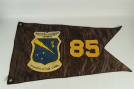 Vintage Rare U.S. Air Force Squadron Officer School Flag class of 1985? ... - $85.45