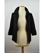 J Brand size small black jacket broad collar with zipper - $37.18