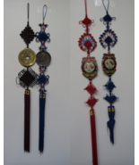 """2x Chinese Hand Made Vintage tradition Decor Hanging Wall Tassel Decor 55"""" - $29.99"""