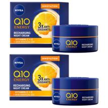 2 Nivea Q10 + C Night Cream 50 ml - $79.00