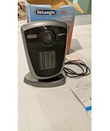 DeLonghi 1500W Digital Ceramic Heater Oscillating - Tip Over Protection ... - $39.60