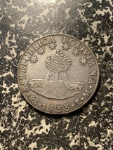 1833-LM Bolivia 8 Soles Lot#L8879 Large Silver Coin! - $70.13