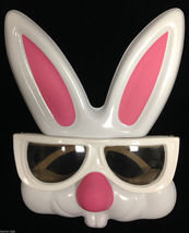 Fun Play EASTER BUNNY RABBIT GLASSES Costume Mask Kid Toy Basket Party F... - $3.97