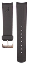 Compatible Nautica A16564G 22mm Black Diver Rubber Watch Strap NTC102 - $28.71