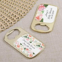 Personalized Gold Bottle Opener - Baby Brunch(24 Pcs)  - $75.99