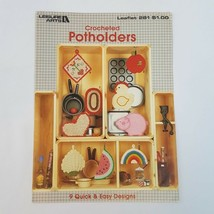 Crocheted Potholders ~ 9 Quick & Easy Pot Holders crochet patterns - $5.86