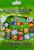 Disney Parks Tsum Tsum # 2 Mystery Pack Collection Pin Bag - 5 Pins Per Bag - $27.67
