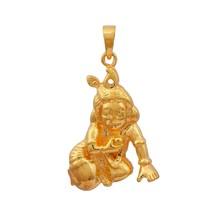 """925 Sterling Silver """"LADDU GOPAL"""" God Religious 18KT Gold Plated  SHPN01154 - $18.28"""