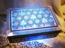 Haunted 33 MOONS CHARGING MOSAIC CHEST 300X MAGNIFYING MAGICK WITCH Cassia4 - $78.50
